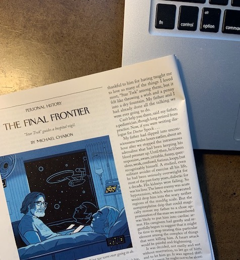 picture of Chabon essay from The New Yorker