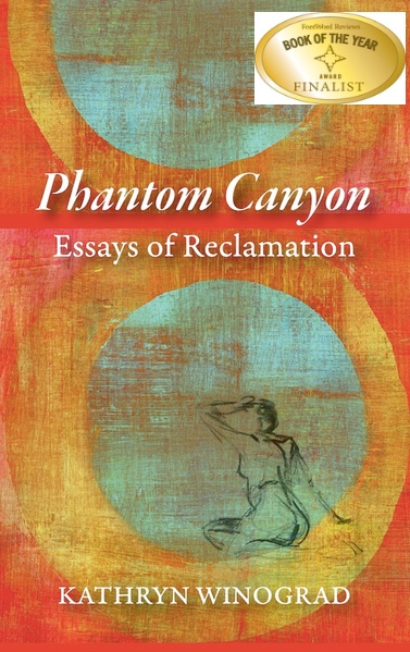 cover of phantom canyon with finalist sticker